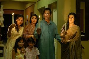 """Neetu Chandra and Poonam Dhillon in """"13B."""""""