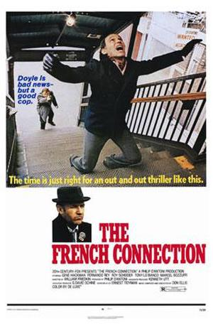 "Poster art for ""The French Connection."""
