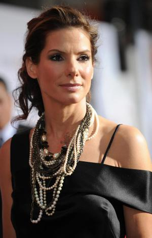"Sandra Bullock at the California premiere of ""The Proposal."""