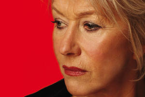 "Helen Mirren in ""Phedre."""