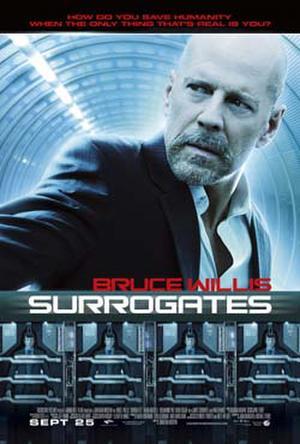 """Poster art for """"Surrogates."""""""