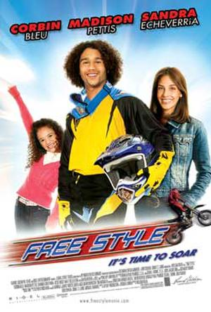 """Poster art for """"Free Style."""""""