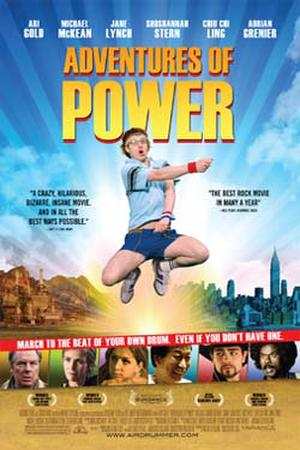"""Poster art for """"Adventures of Power."""""""