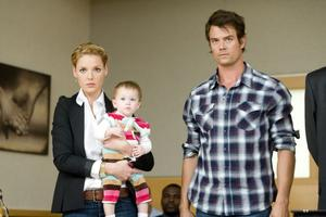 "Katherine Heigl as Holly Berenson and Josh Duhamel as Eric Messer in ""Life As We Know It."""