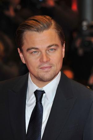 """Leonardo DiCaprio at the Berlin premiere of """"Shutter Island."""""""