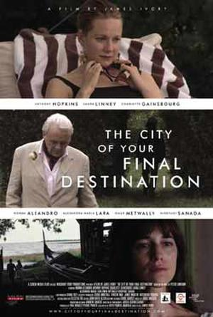 """Poster art for """"The City of Your Final Destination."""""""