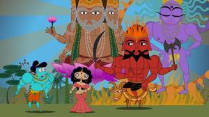 "A scene from ""Sita Sings the Blues."""
