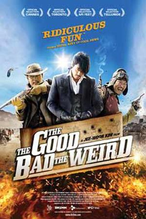 "Poster art for ""The Good, the Bad, the Weird."""