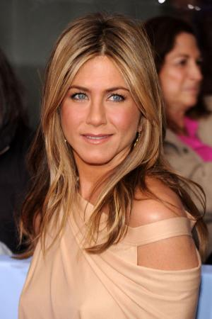 """Jennifer Aniston at the New York premiere of """"The Bounty Hunter."""""""