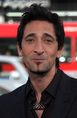"Adrien Brody at the California premiere of ""Splice."""