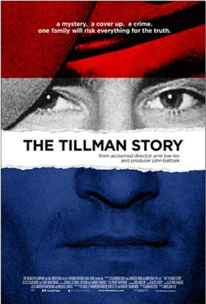 "Poster art for ""The Tillman Story."""