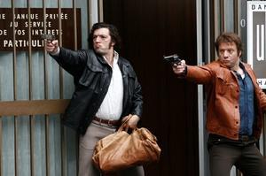 "Vincent Cassel as Jacques Mesrine in ""Mesrine: Public Enemy #1."""