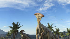 "A scene from ""Sea Rex: Journey to a Prehistoric World."""