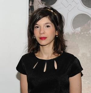 """Yael Hersonski at the New York premiere of """"A Film Unfinished."""""""