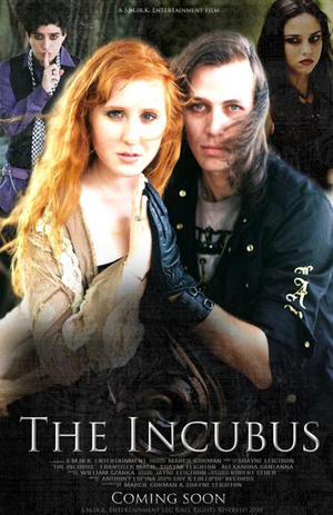 """Poster art for """"The Incubus."""""""