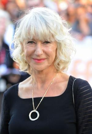 "Helen Mirren at the Canada premiere of ""The Debt."""