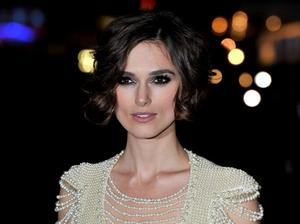 """Keira Knightley at the London premiere of """"Never Let Me Go"""" during the Opening Night of the 54th BFI London Film Festival."""