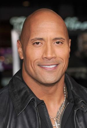 """Dwayne Johnson at the California premiere of """"Faster."""""""