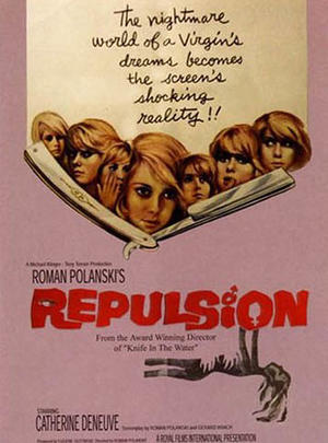 "Poster art for ""Repulsion/Rosemary's Baby"""