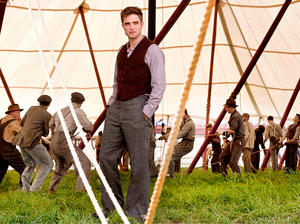 "Robert Pattinson as Jacob in ""Water for Elephants."""