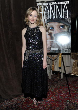 "Saoirse Ronan at the after party of the New York screening of ""Hanna."""