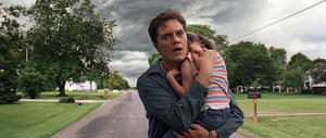 """Michael Shannon as Curtis and Tova Stewart as Hannah in """"Take Shelter."""""""