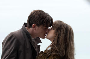 "Sam Riley as Pinkie and Andrea Riseborough as Rose in ""Brighton Rock."""