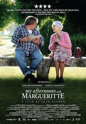 "Poster art for ""My Afternoons with Margueritte."""