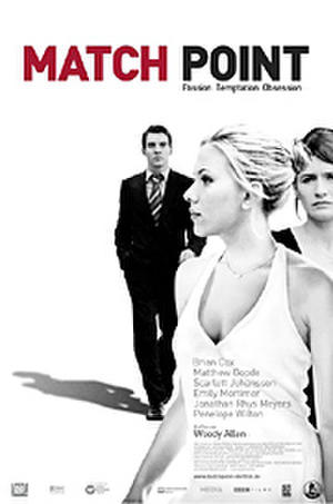 "Poster art for ""Match Point."""