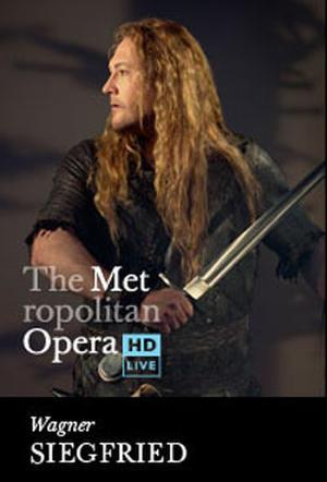 """Poster art for """"Poster art for """"The Metropolitan Opera: Siegfried."""""""