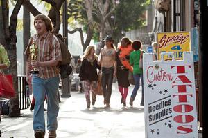 "Nick Swardson as Bucky Larson in ""Bucky Larson: Born to Be a Star."""