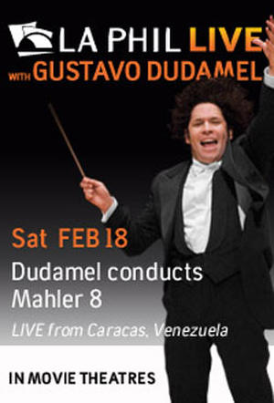 "Poster art for ""LA Phil Live: Dudamel Conducts Mahler."""