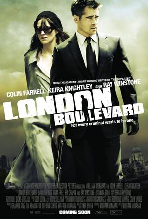 "Poster art for ""London Boulevard."""