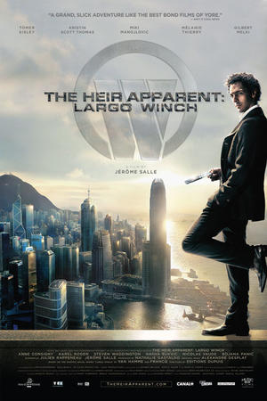 "Poster art for ""The Heir Apparent: Largo Winch."""