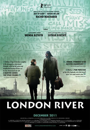 "Poster art for ""London River."""