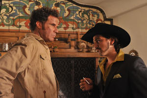 "Will Ferrell and Diego Luna in ""Casa De Mi Padre."""