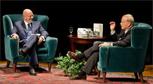 """A scene from """"Book Club with Michael Smerconish featuring Chris Matthews."""""""