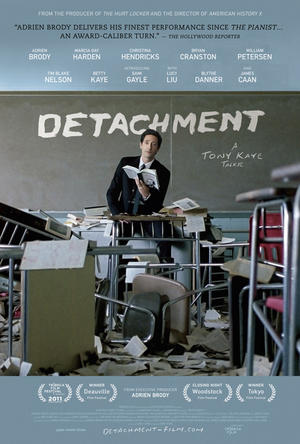 "Poster art for ""Detachment."""