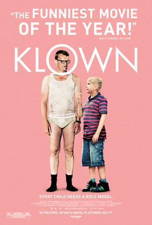 """Poster art for """"Klown."""""""