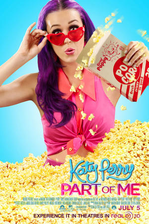 "Poster art for ""Katy Perry: Part of Me 3D."""