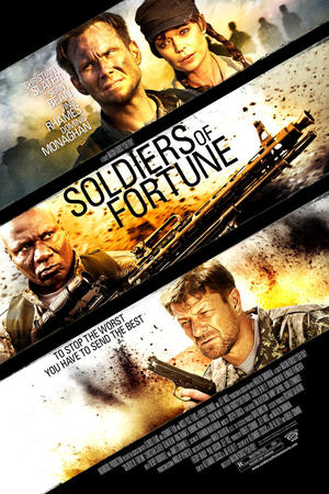 "Poster art for ""Soldiers of Fortune."""