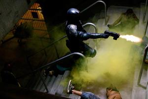 """Karl Urban in """"Dredd."""""""