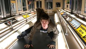 """Andrew Garfield as Peter Parker in """"The Amazing Spider-Man."""""""