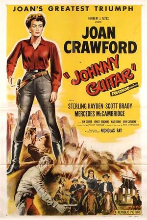 "Poster art for ""Johnny Guitar."""