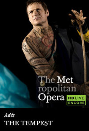 "Poster art for ""The Metropolitan Opera: The Tempest Encore."""