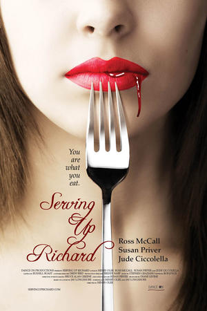 "Poster art for ""Serving Up Richard."""