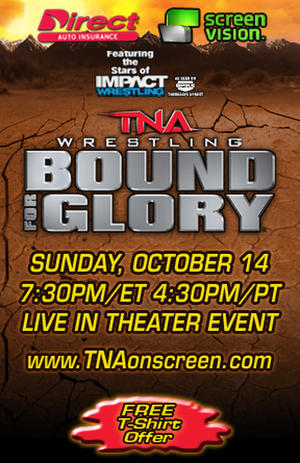 "Poster art for ""TNA Bound for Glory 2012."""