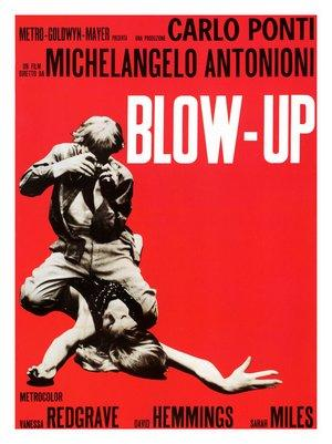 "Poster art for ""Blow Up."""