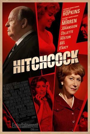 """Poster art for """"Hitchcock."""""""
