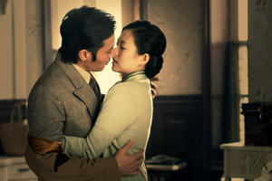 "Jang Dong-gun and Zhang Ziyi in ""Dangerous Liaisons."""